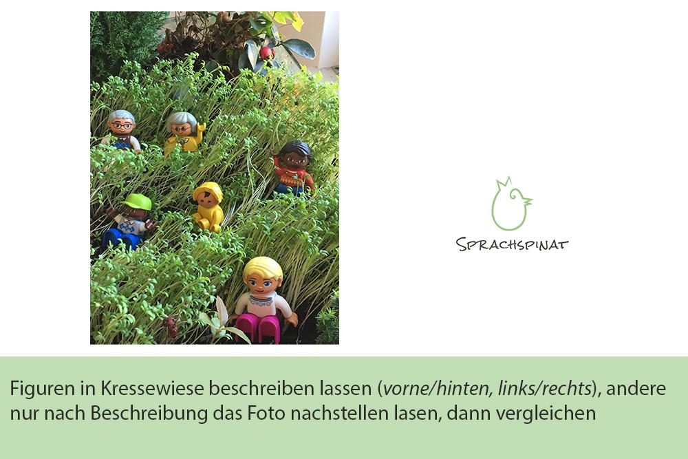 Abb.2: Sprachspinat-Sprachanlass Kressewiese